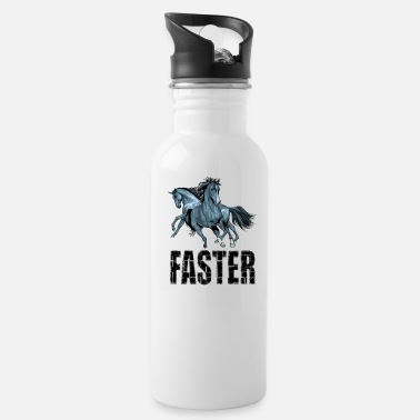 Faster Faster - Water Bottle