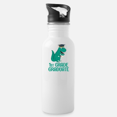 Back To School Graduate 1st Grade - Water Bottle