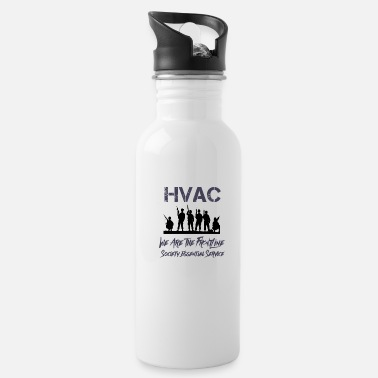 Hvac We Are Essential Service - Water Bottle