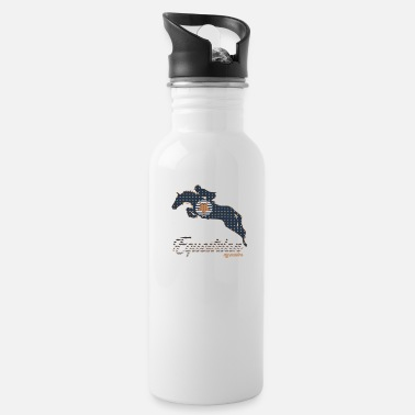 Jump Shot JUMPING horsee gift horses riding pony - Water Bottle