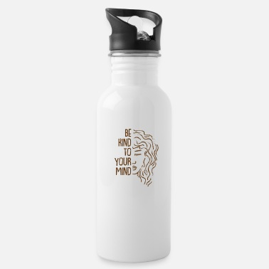 Health Be Kind To Your Mind For Mental Health Awareness - Water Bottle