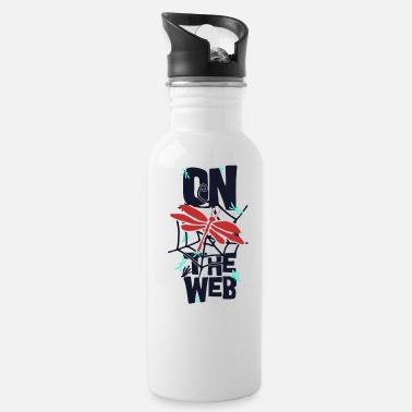 Web On the Web - Water Bottle