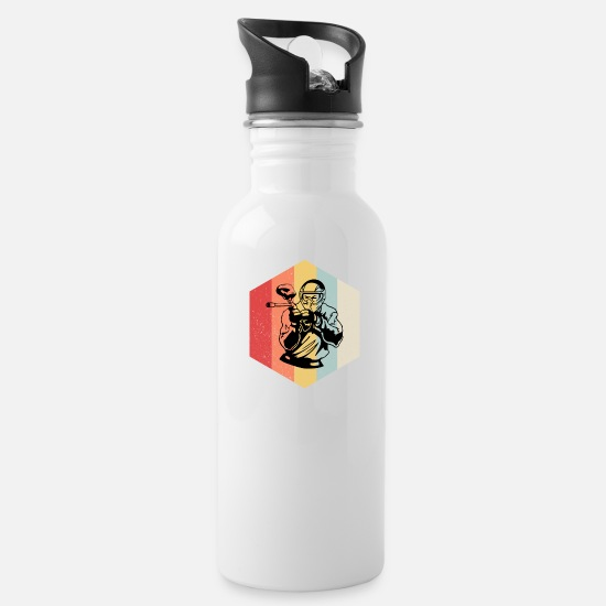 Airsoft Mugs & Drinkware - Retro Paintball rhombus gift - Water Bottle white