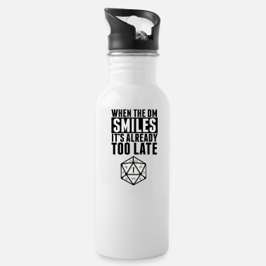 Dice DM smiles - Water Bottle