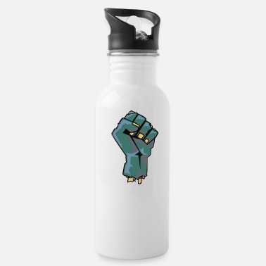 Punch Zombie Punch - Water Bottle