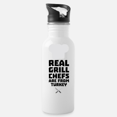 Prepare Real Grill Chefs are from Turkey S306q - Water Bottle