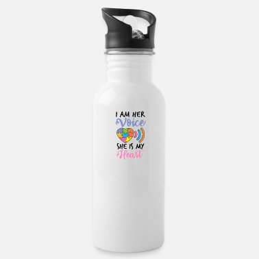 Childhood Autism Mom Unbreakable Autistic Awareness Day - Water Bottle