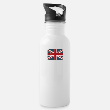 Jack VINTAGE UNION JACK BRITISH FLAG - Water Bottle