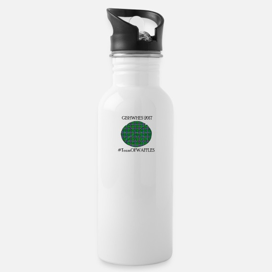 Teamofwaffles Mugs & Drinkware - TeamOFWAFFLES 2017 - Water Bottle white