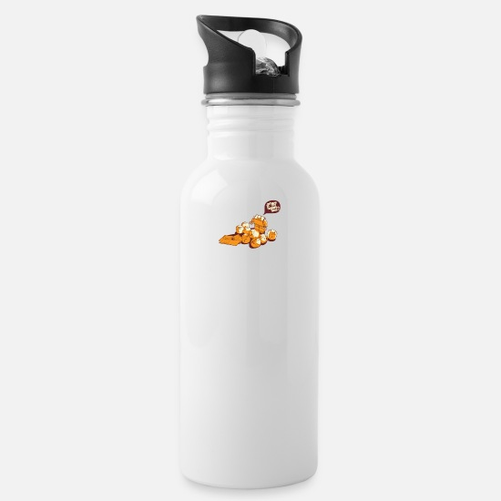 Happy Mugs & Drinkware - Happy Face - Water Bottle white