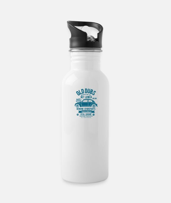 Pilot Mugs & Cups - Old Dubs - Water Bottle white