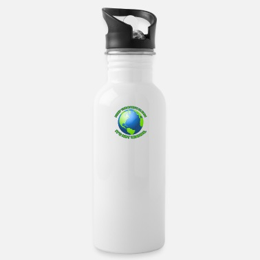 Clean What It Is Keep the earth clean - Water Bottle