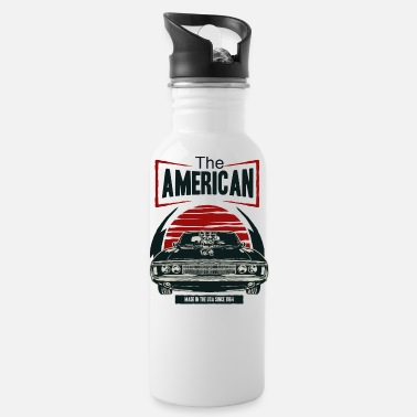 Muscle Car American Muscle Car - Water Bottle
