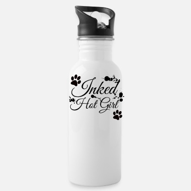 Hot Girl Inked Hot Girl - Water Bottle