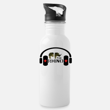 Dj The Rhino LIne 2.0 - Water Bottle