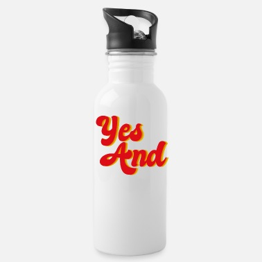 Yes And Improv - Water Bottle