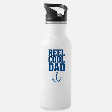Carp Reel cool dad gift fishing trip fishing day - Water Bottle