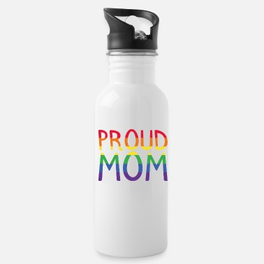 Gay Proud Mom LGBT present - Water Bottle