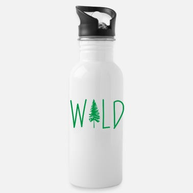 Vacation Wild Adventure Mountains Vacation Gift - Water Bottle