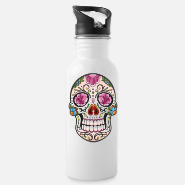 Sugar Skull Mexican sugar skull - Water Bottle