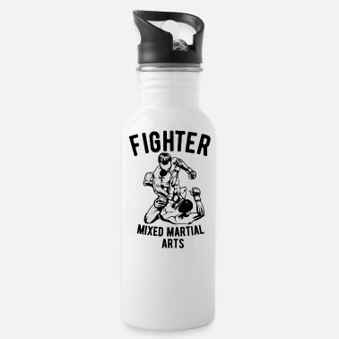 Arts Fighter Mixed Martial Arts Design - Water Bottle