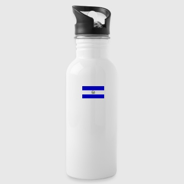 Diseño bandera de el salvador - Water Bottle