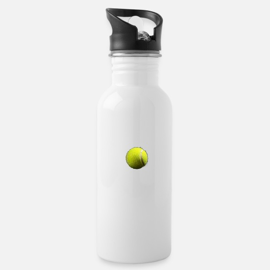 Tennis Player Mugs & Drinkware - Tennisball - Water Bottle white