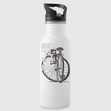 Barf Bike Til You Barf - Water Bottle