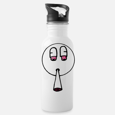 Spliff Spliff Smiley Plain - Water Bottle