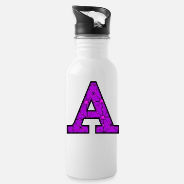 Decorated Decorative A - Water Bottle