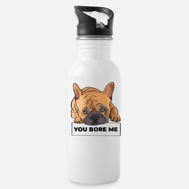 French Bulldog Frenchie Shirt Hoodie - Water Bottle