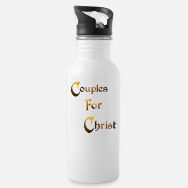 Quotes Couples Couples for Christ - Water Bottle