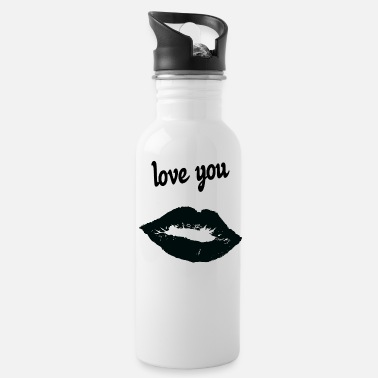 Affection Dedication affection love - Water Bottle