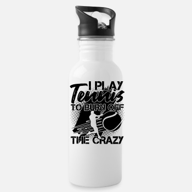 Play Tennis Player Coach Fan Lover Gift - Water Bottle