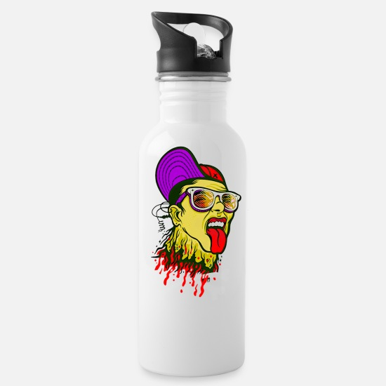 Art Mugs & Drinkware - A dead tooth - Water Bottle white