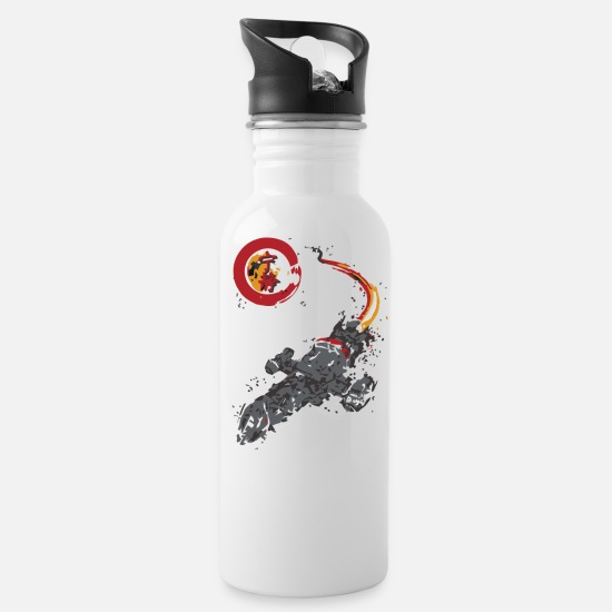 Game Mugs & Drinkware - A LEAF ON THE WIND - Water Bottle white