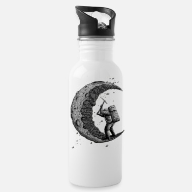 The Moon The Moon - Water Bottle