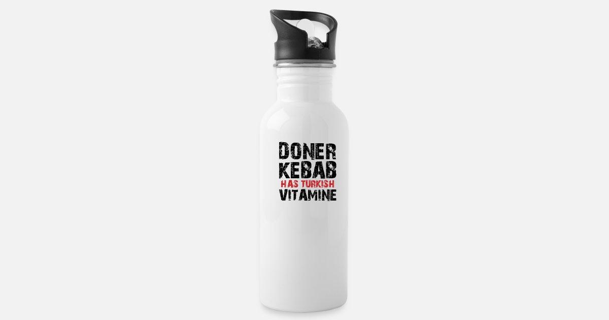 Doner Kebab has Turkish Vitame Water Bottle   Spreadshirt
