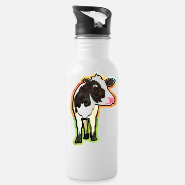 Cow Dairy Cow - Water Bottle