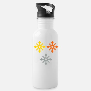 Ice Crystal Ice Crystals - Water Bottle