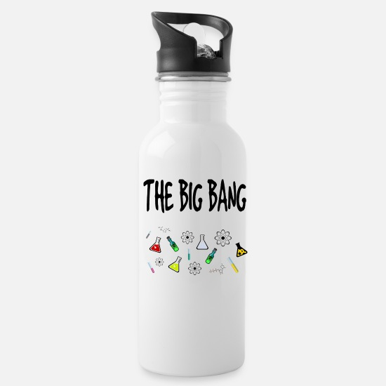 Big Mugs & Drinkware - The Big Bang Chemistry - Water Bottle white