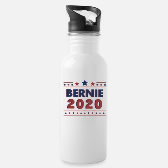 Ready Mugs & Drinkware - Bernie 2020 - Water Bottle white