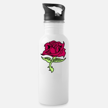 Red Rose Red Rose - Water Bottle
