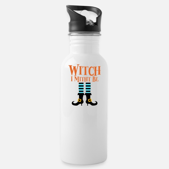 Witch Mugs & Drinkware - Witch Witches - Water Bottle white