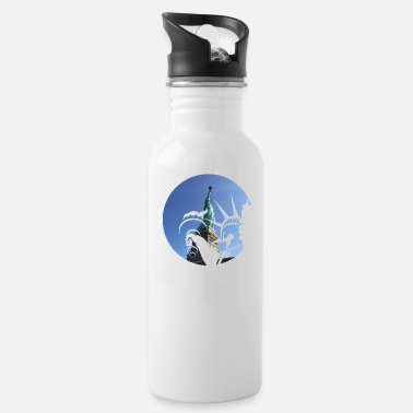 Statue Liberty Statue - Water Bottle