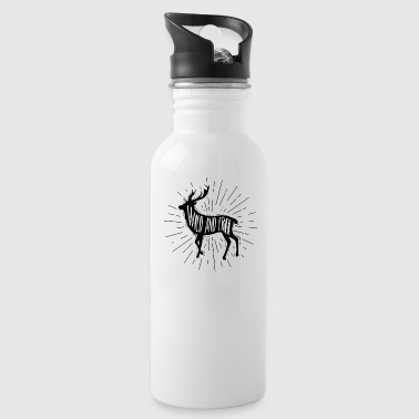 Wild and Free Outdoorsy Deer - Water Bottle