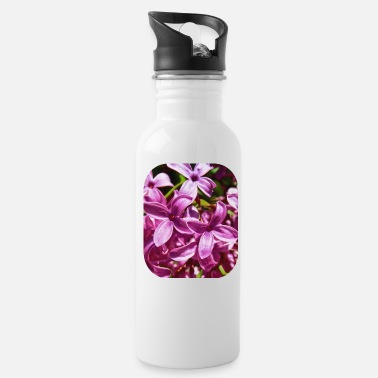 Lilac Lilac Closeup - Water Bottle