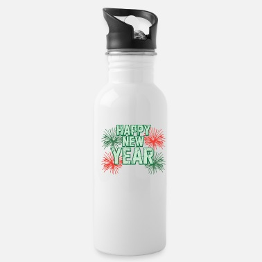 Missile HAPPY NEW YEAR - Water Bottle