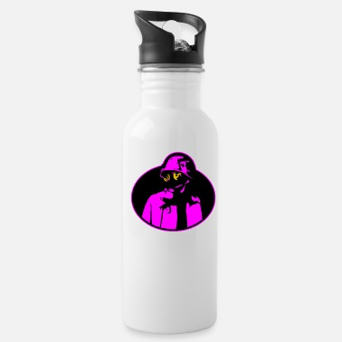 Radioactive Pandemic Gas Mask - Soldier Apocalypse T-Shirt. - Water Bottle