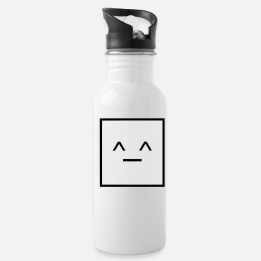 Square Square, it is a Square- Geometric Square happy - Water Bottle